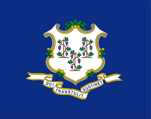 State of Connecticut Official Flag