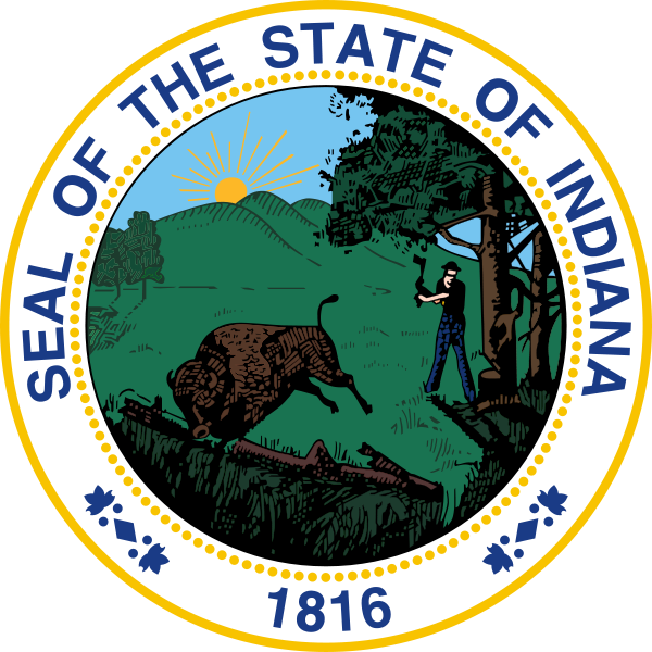 State Seal of Indiana