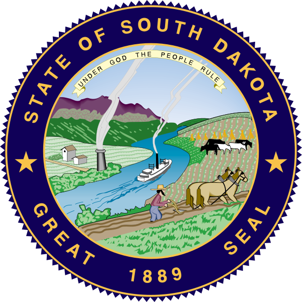 State Seal of South Dakota